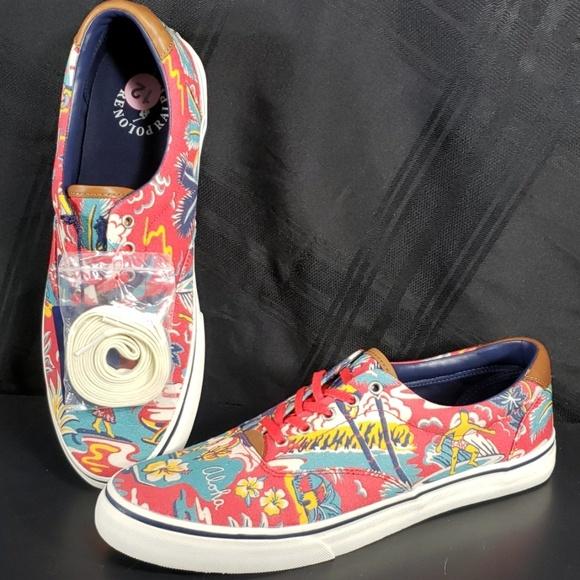 Thornton Ralph Sz Lauren Aloha Sneakers Nwt Polo 12 8On0wPk
